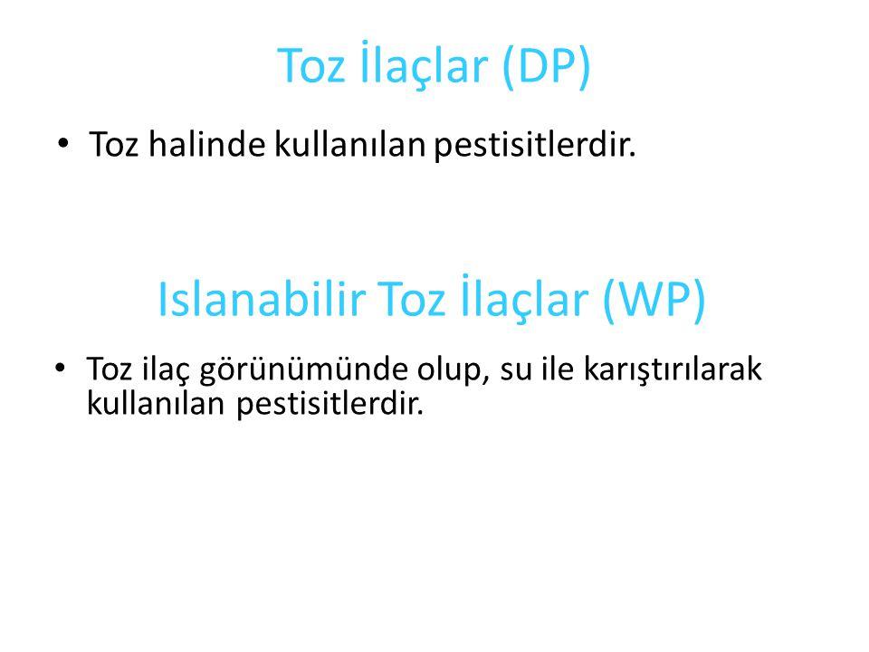 Islanabilir Toz İlaçlar (WP)