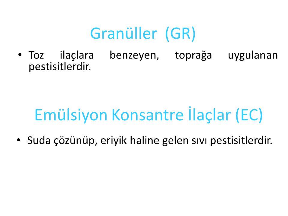 Emülsiyon Konsantre İlaçlar (EC)