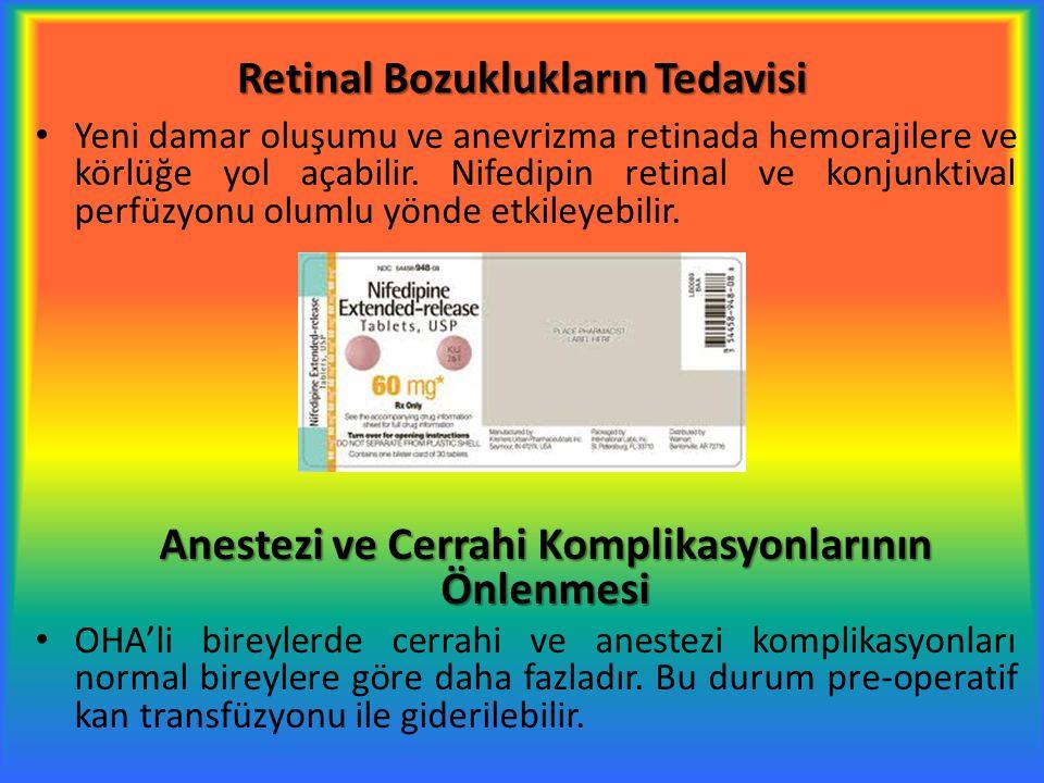 Retinal Bozuklukların Tedavisi