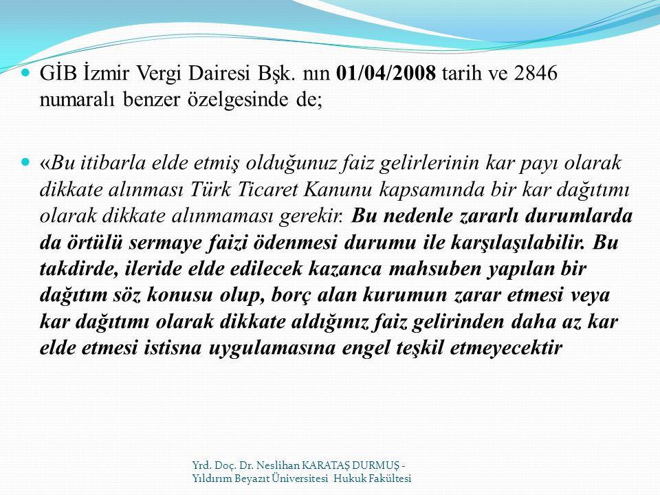 GİB İzmir Vergi Dairesi Bşk