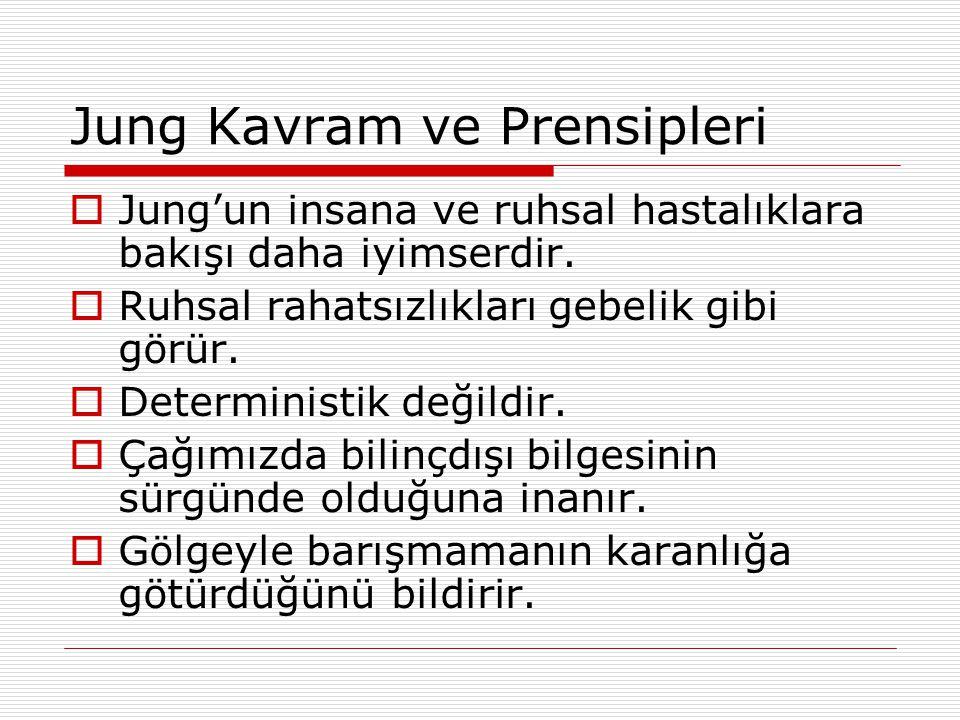 Jung Kavram ve Prensipleri