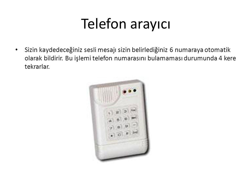Telefon arayıcı