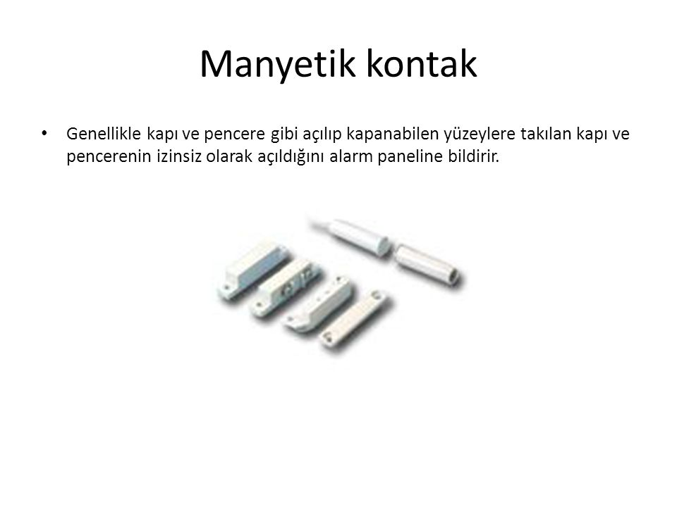 Manyetik kontak