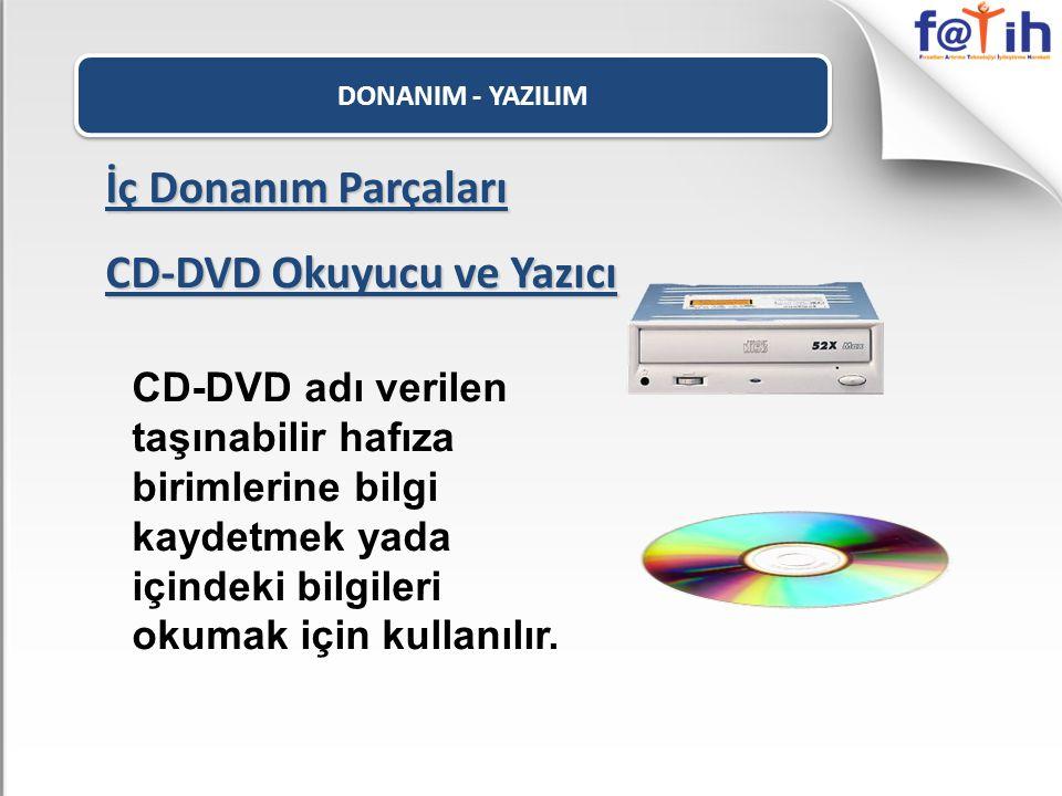 CD-DVD Okuyucu ve Yazıcı