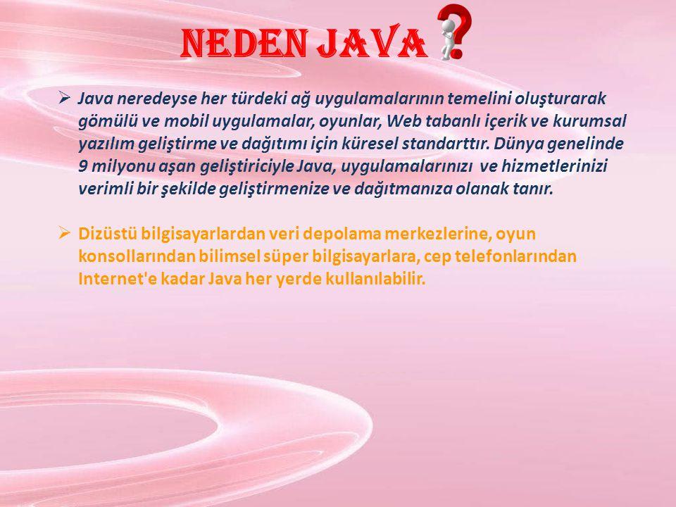 Neden Java