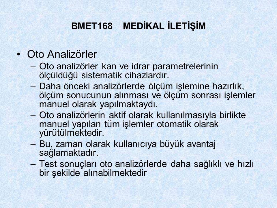 Oto Analizörler BMET168 MEDİKAL İLETİŞİM