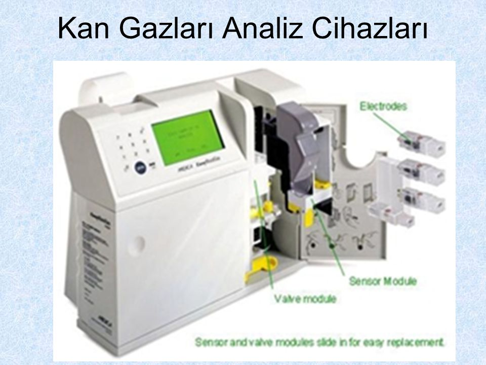 Kan Gazları Analiz Cihazları