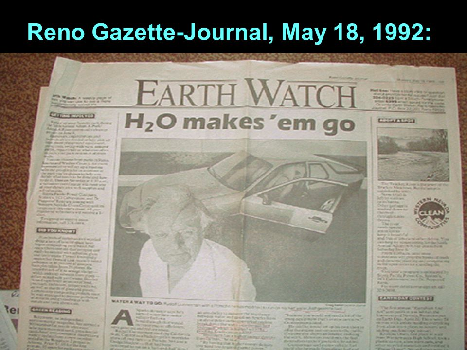 Reno Gazette-Journal, May 18, 1992: