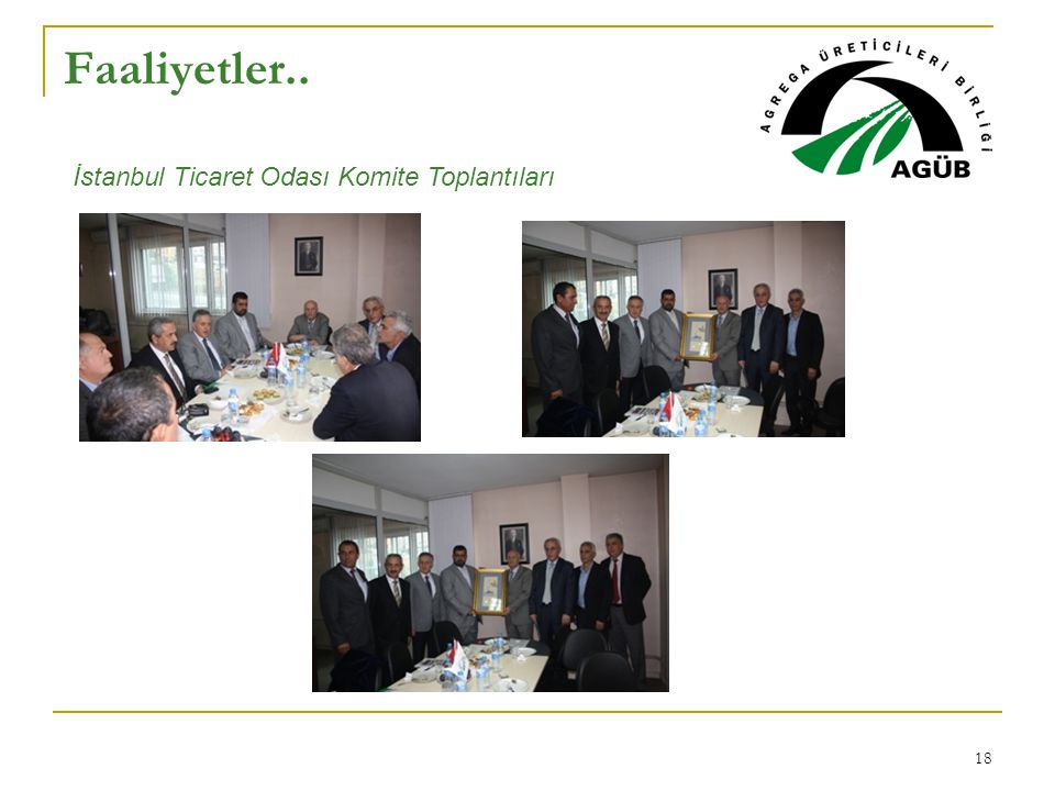 Faaliyetler.. İstanbul Ticaret Odası Komite Toplantıları