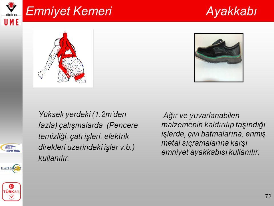 Emniyet Kemeri Ayakkabı
