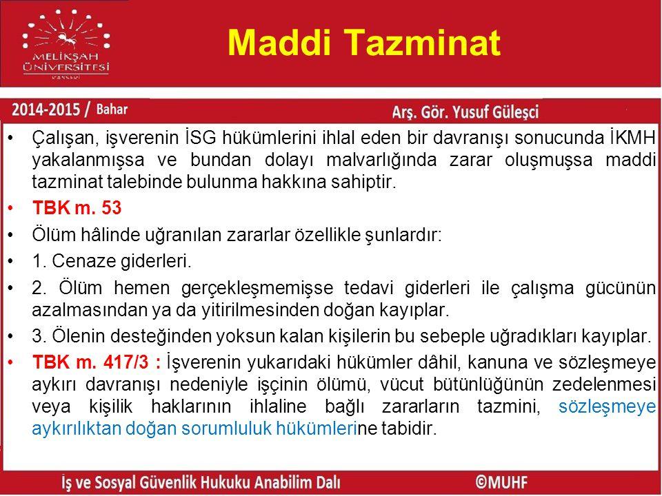 Maddi Tazminat