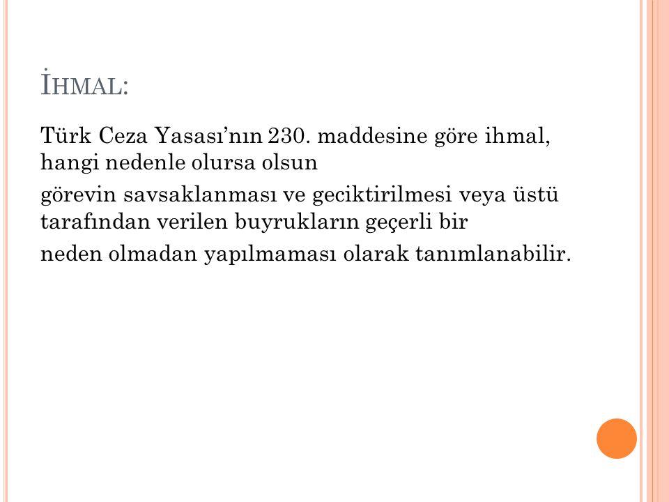 İhmal: