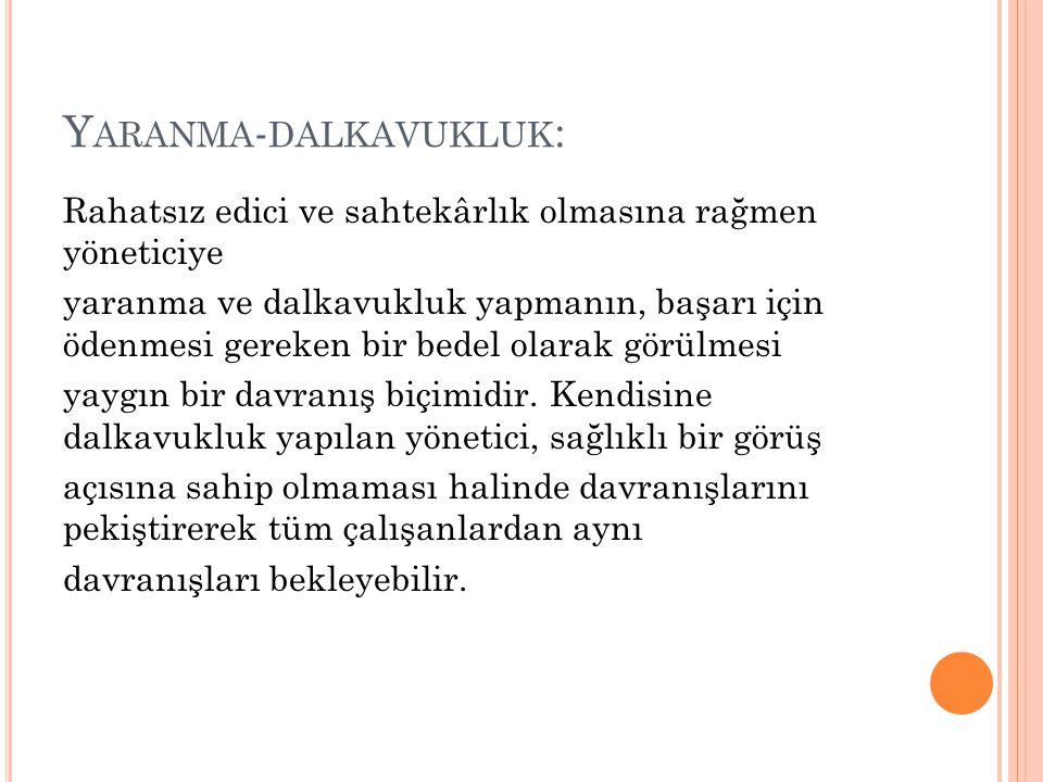 Yaranma-dalkavukluk:
