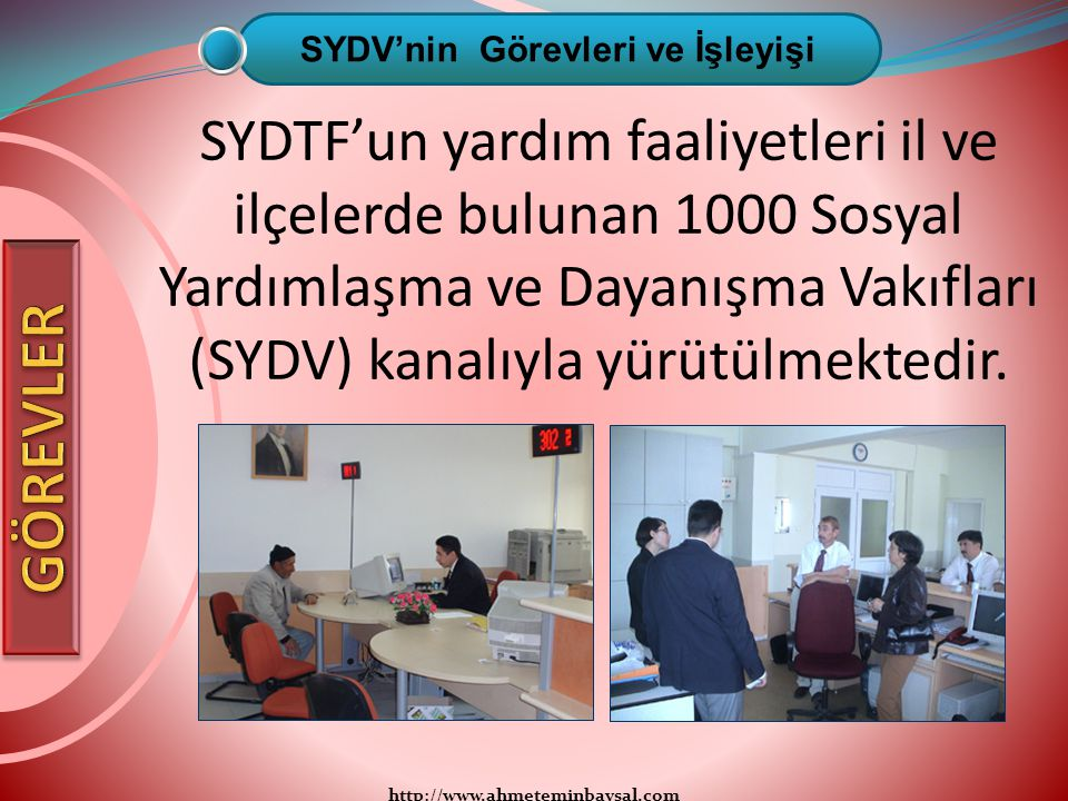 SYDV'nin Görevleri ve İşleyişi