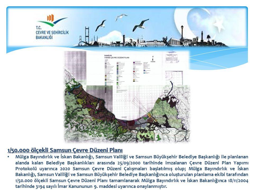 1/50.000 ölçekli Samsun Çevre Düzeni Planı