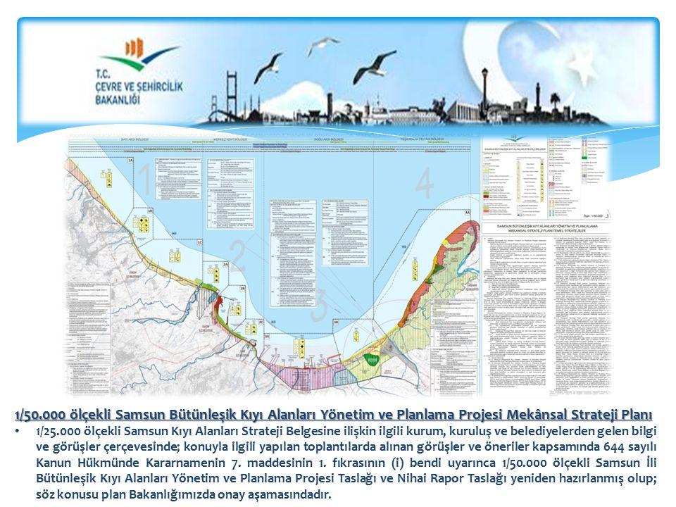 1/50.000 ölçekli Samsun Bütünleşik Kıyı Alanları Yönetim ve Planlama Projesi Mekânsal Strateji Planı