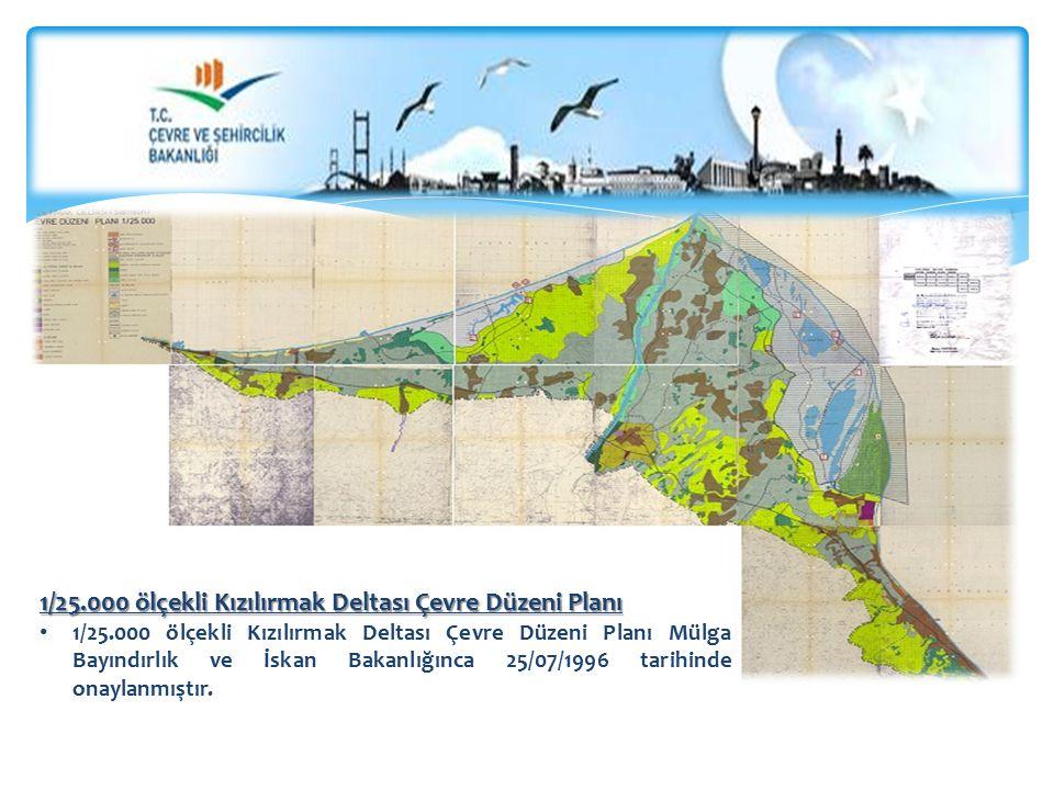 1/25.000 ölçekli Kızılırmak Deltası Çevre Düzeni Planı