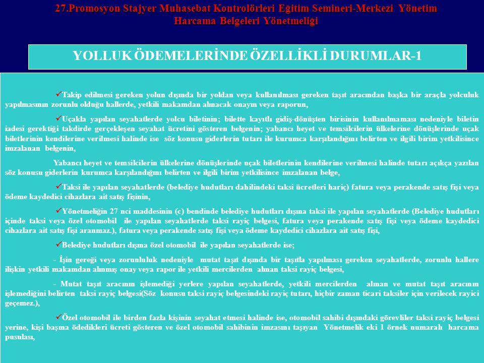 YOLLUK ÖDEMELERİNDE ÖZELLİKLİ DURUMLAR-1