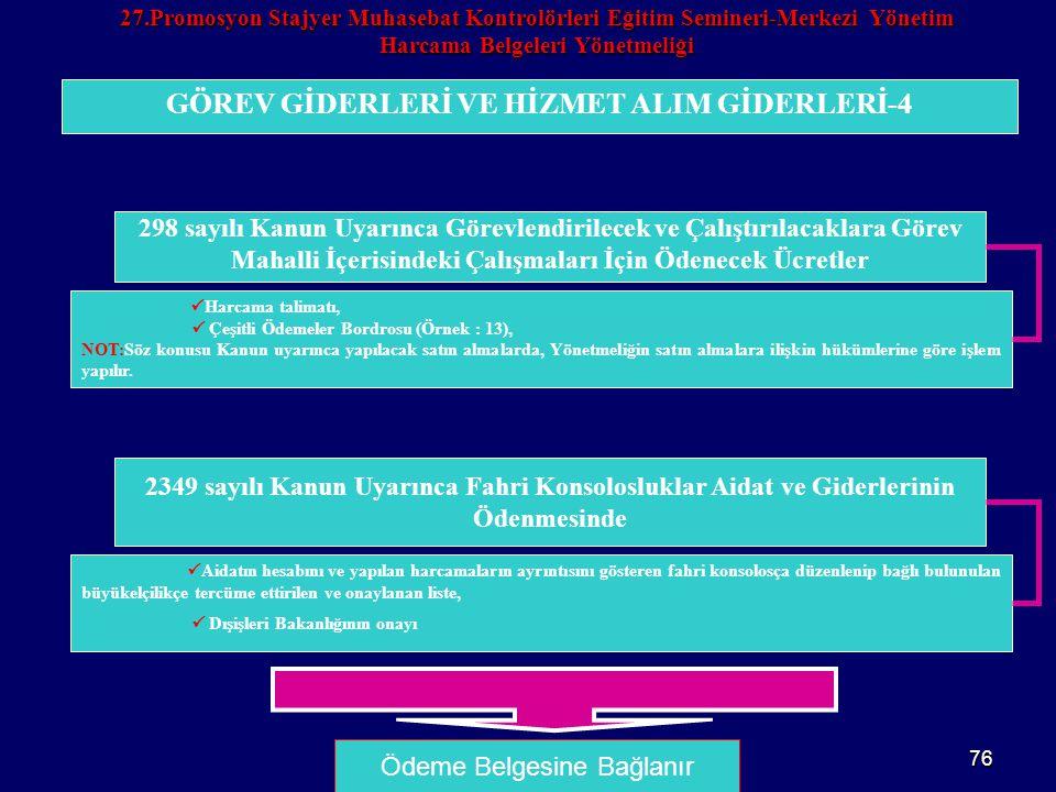 GÖREV GİDERLERİ VE HİZMET ALIM GİDERLERİ-4