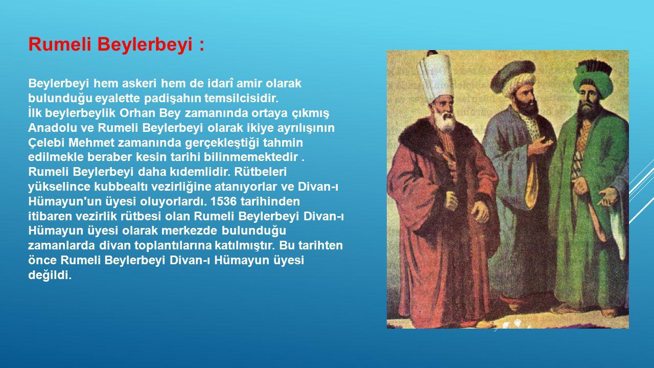 Rumeli Beylerbeyi :
