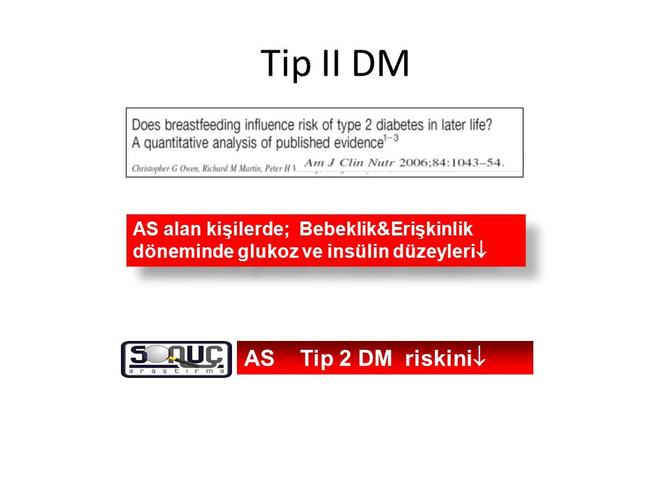 Tip II DM AS Tip 2 DM riskini