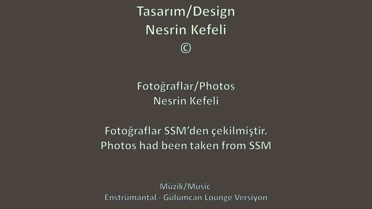 Tasarım/Design Nesrin Kefeli ©