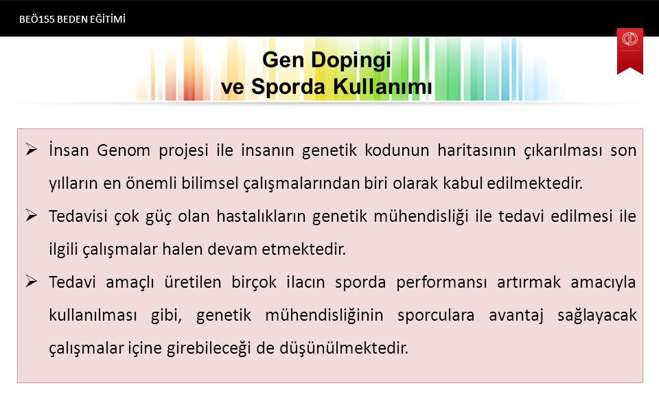 Gen Dopingi ve Sporda Kullanımı