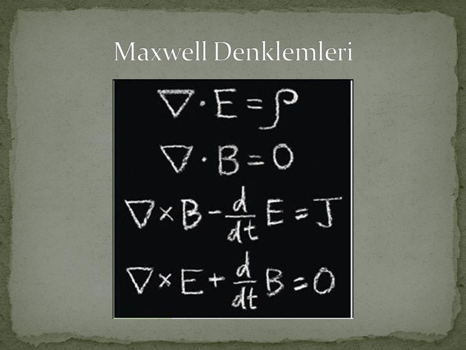 Maxwell Denklemleri