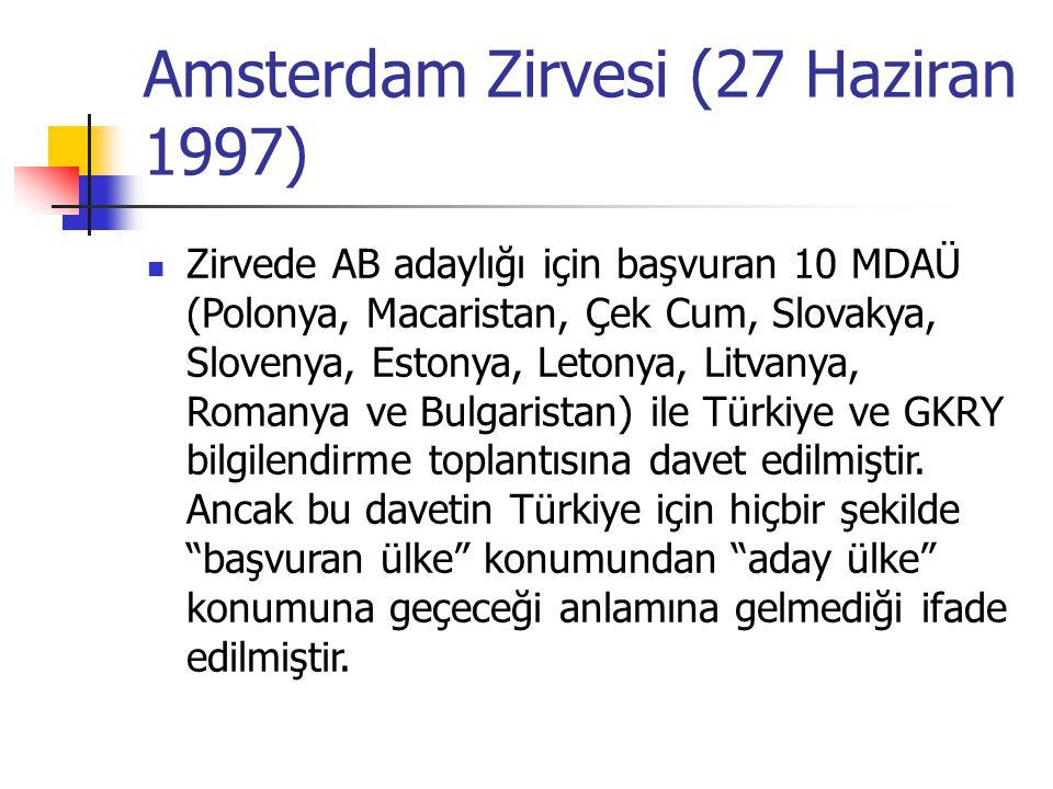 Amsterdam Zirvesi (27 Haziran 1997)