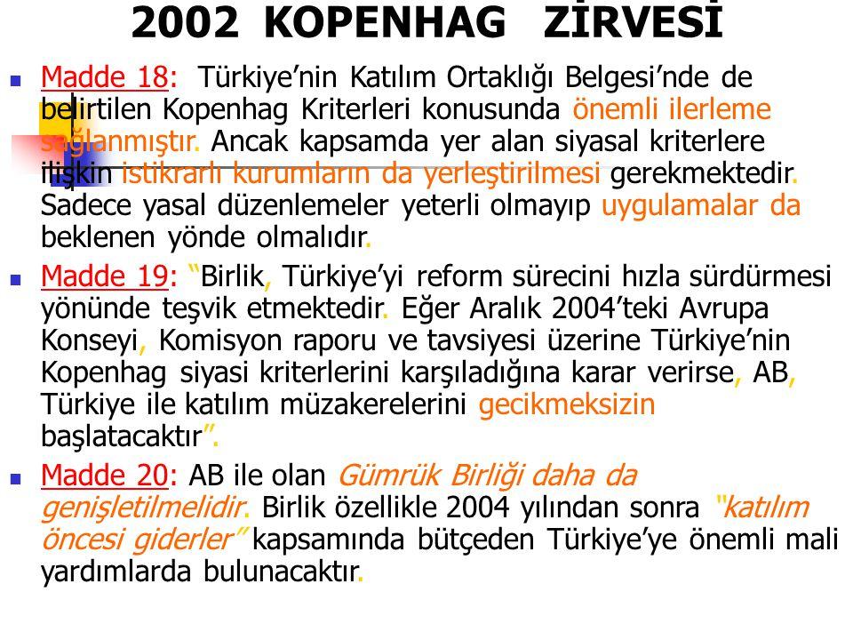 2002 KOPENHAG ZİRVESİ