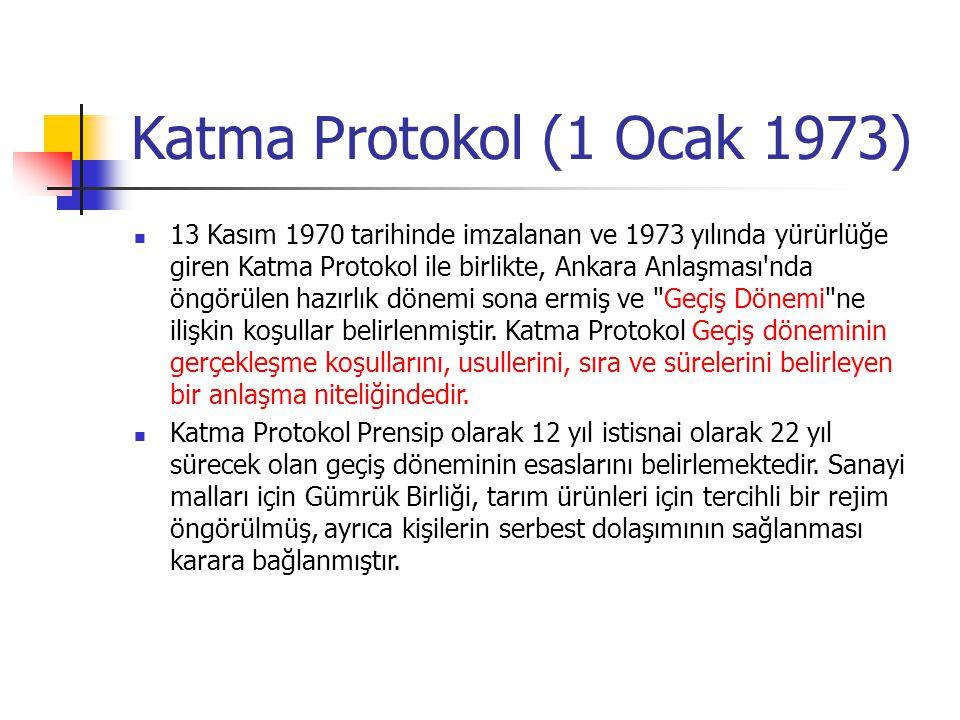 Katma Protokol (1 Ocak 1973)
