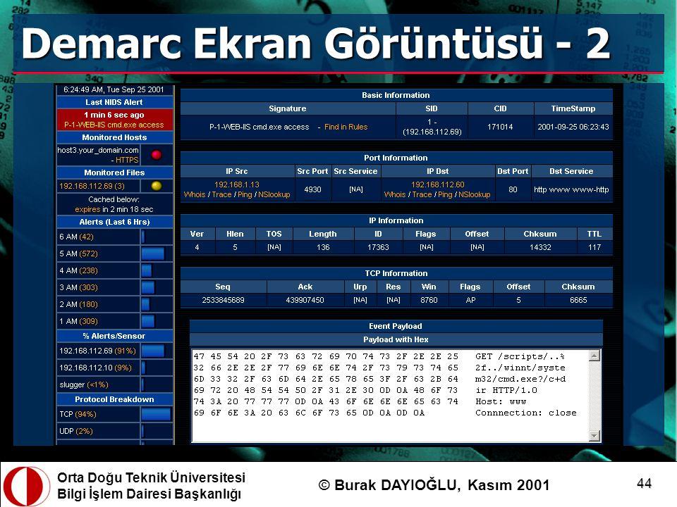 Demarc Ekran Görüntüsü - 2