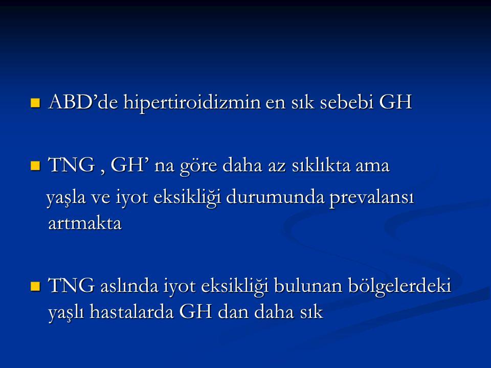 ABD'de hipertiroidizmin en sık sebebi GH