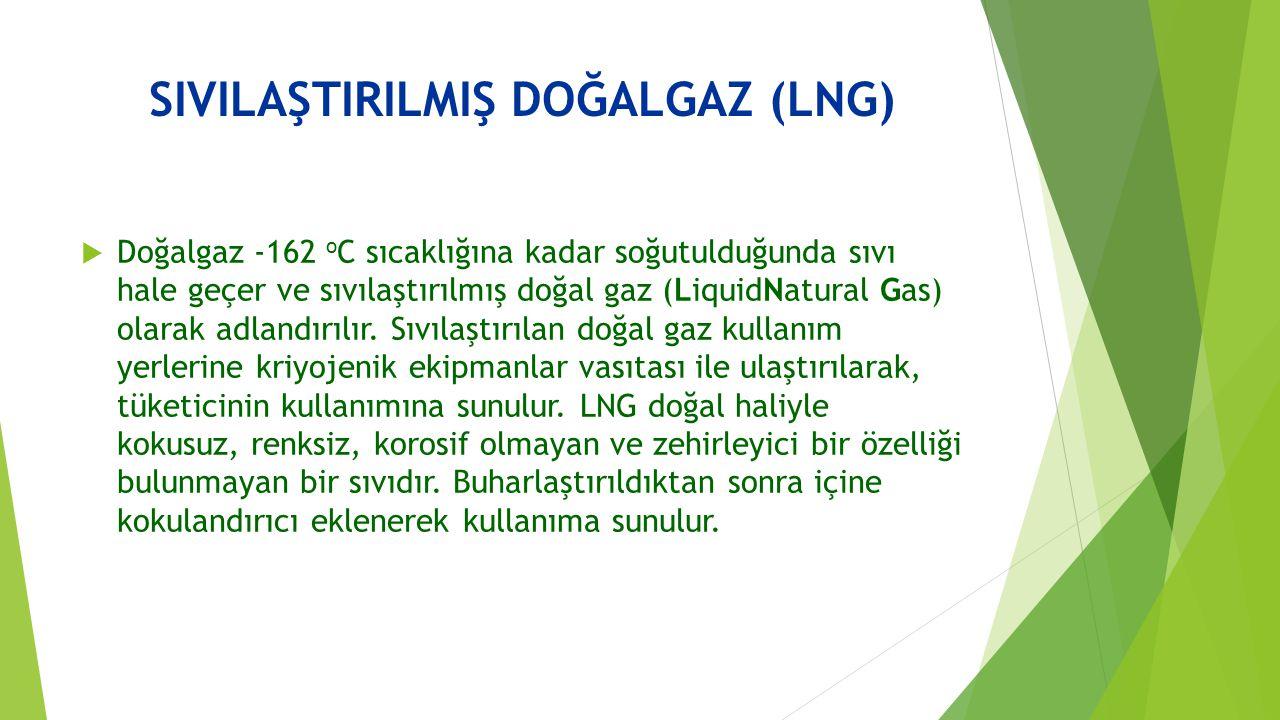 SIVILAŞTIRILMIŞ DOĞALGAZ (LNG)