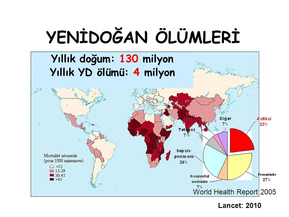 Yıllık YD ölümü: 4 milyon