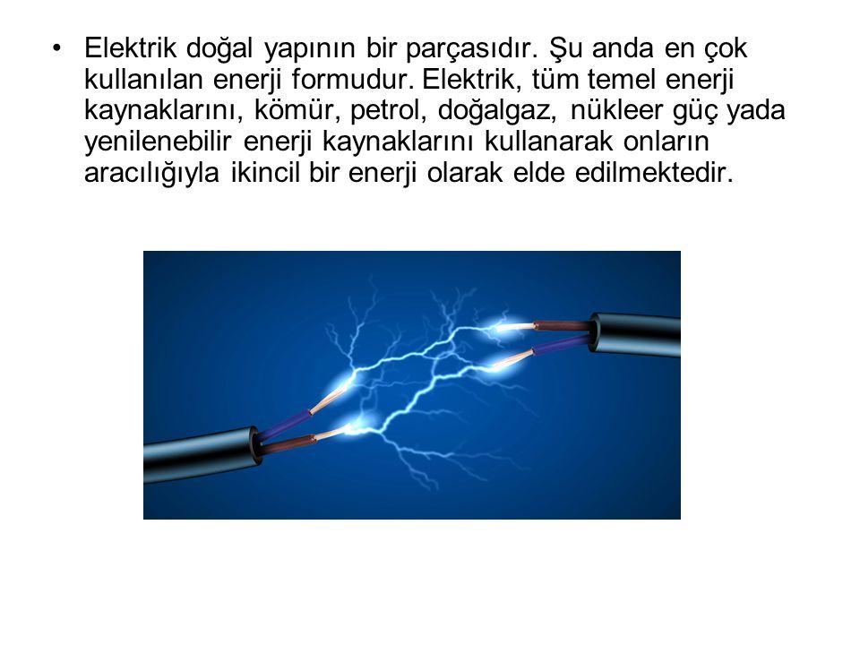 Elektrik doğal yapının bir parçasıdır