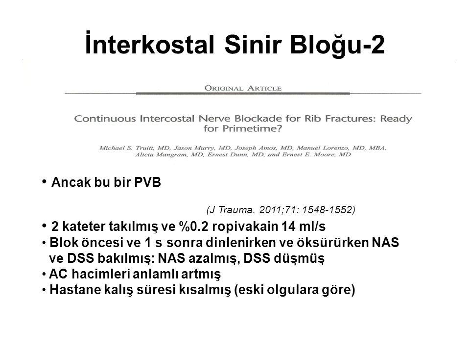İnterkostal Sinir Bloğu-2