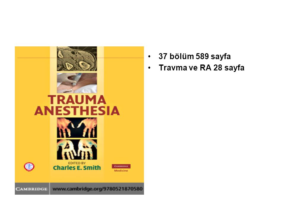 37 bölüm 589 sayfa Travma ve RA 28 sayfa
