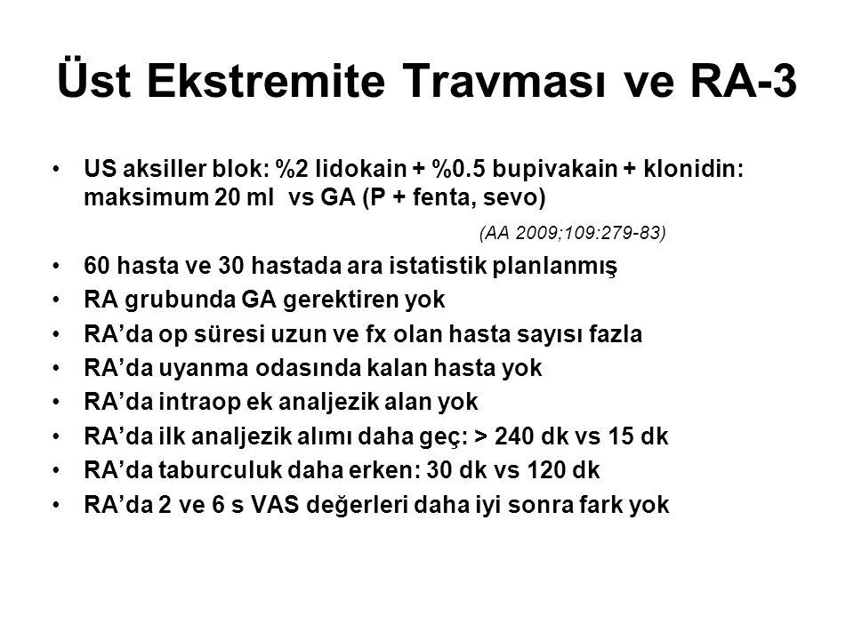 Üst Ekstremite Travması ve RA-3