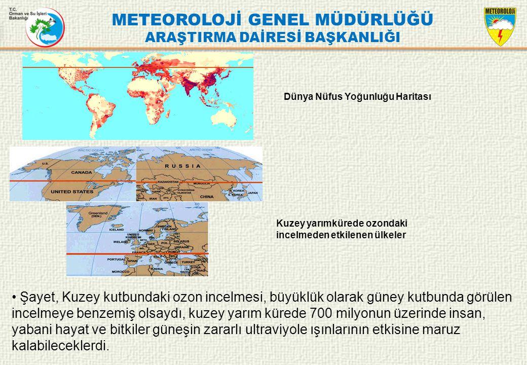 METEOROLOJİ GENEL MÜDÜRLÜĞÜ ARAŞTIRMA DAİRESİ BAŞKANLIĞI