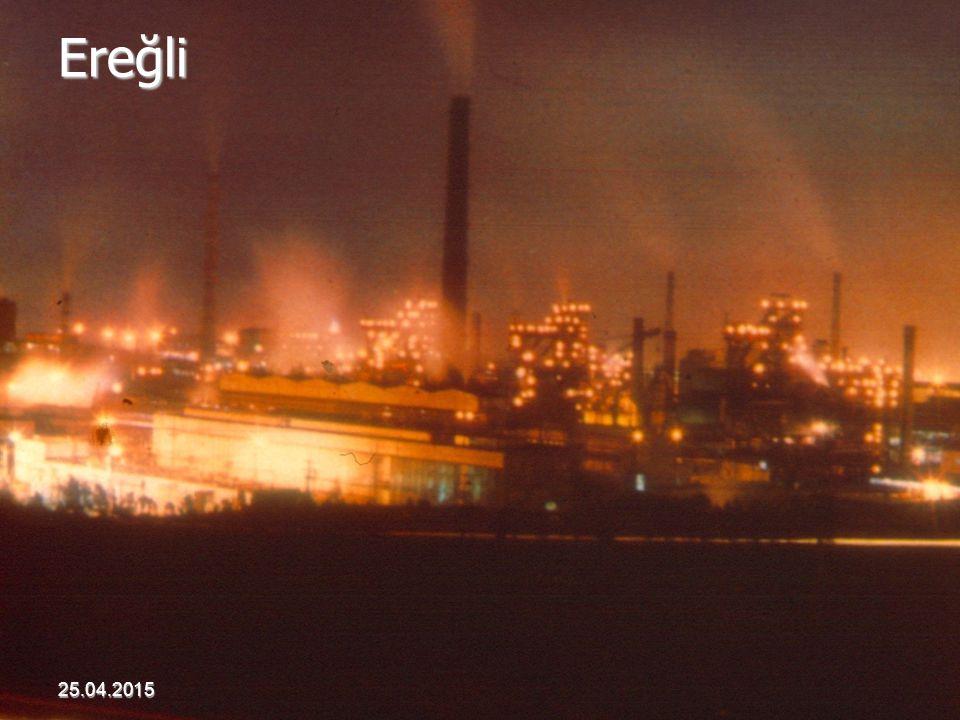 Ereğli 25.04.2015 Akdur 2001 Hava Kirliliği