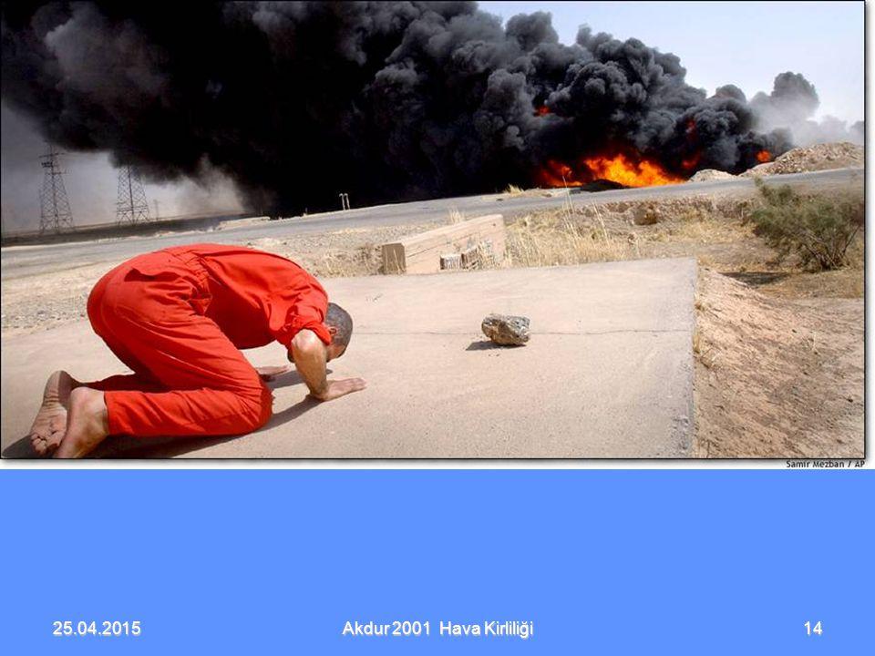 25.04.2015 Akdur 2001 Hava Kirliliği