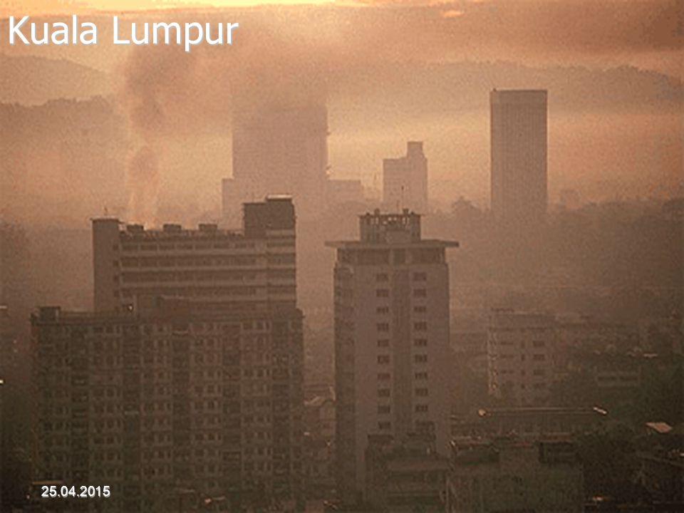 Kuala Lumpur 25.04.2015 Akdur 2001 Hava Kirliliği