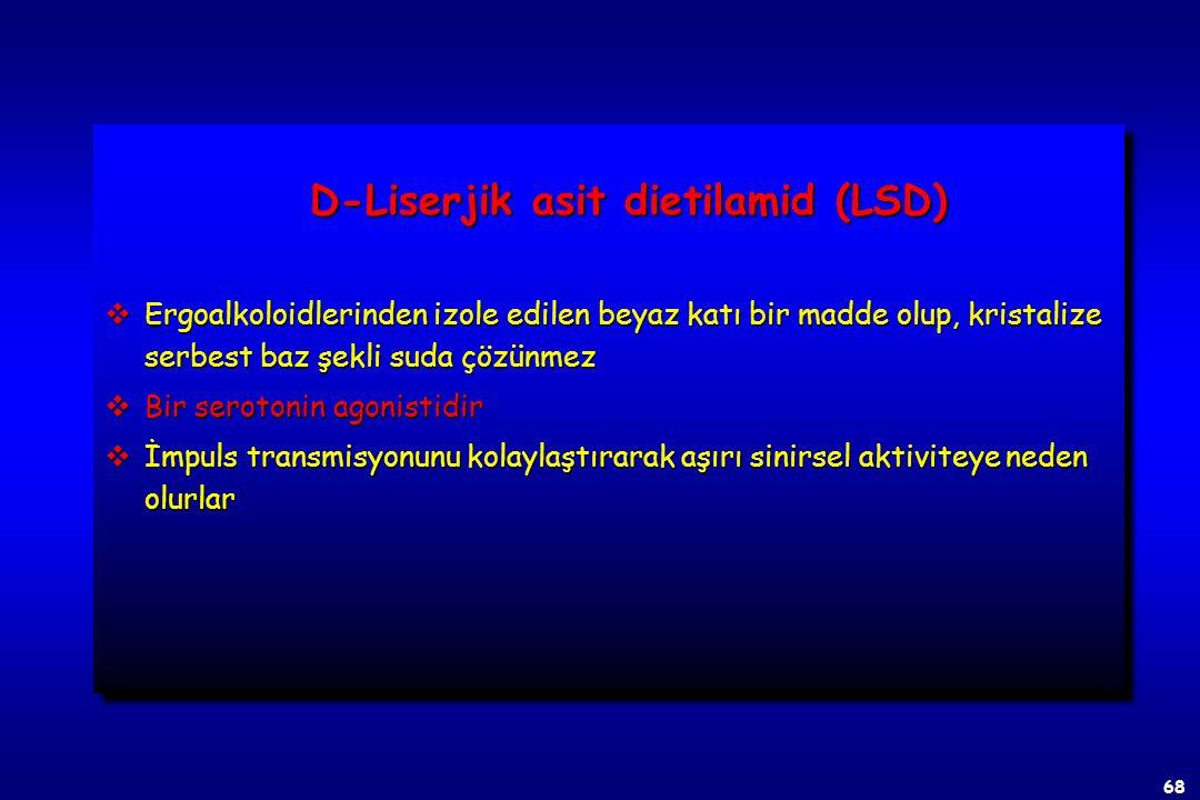 D-Liserjik asit dietilamid (LSD)