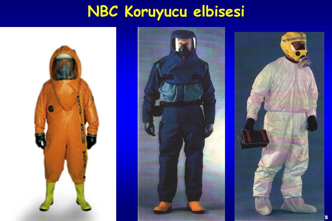NBC Koruyucu elbisesi HİZMETE ÖZEL