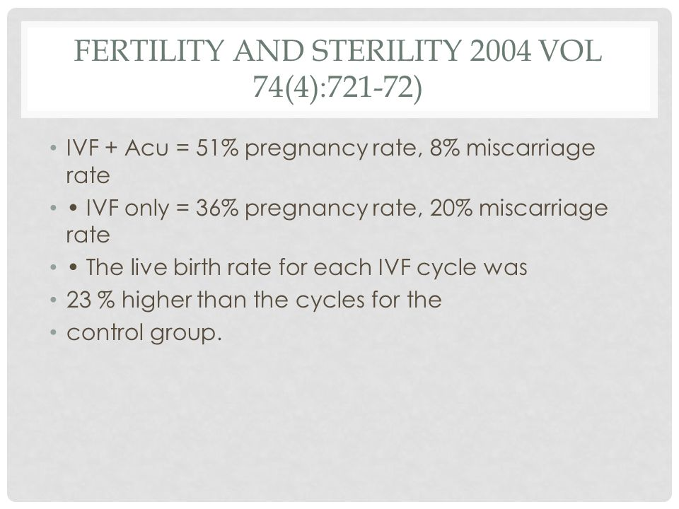 Fertility and Sterility 2004 vol 74(4):721-72)