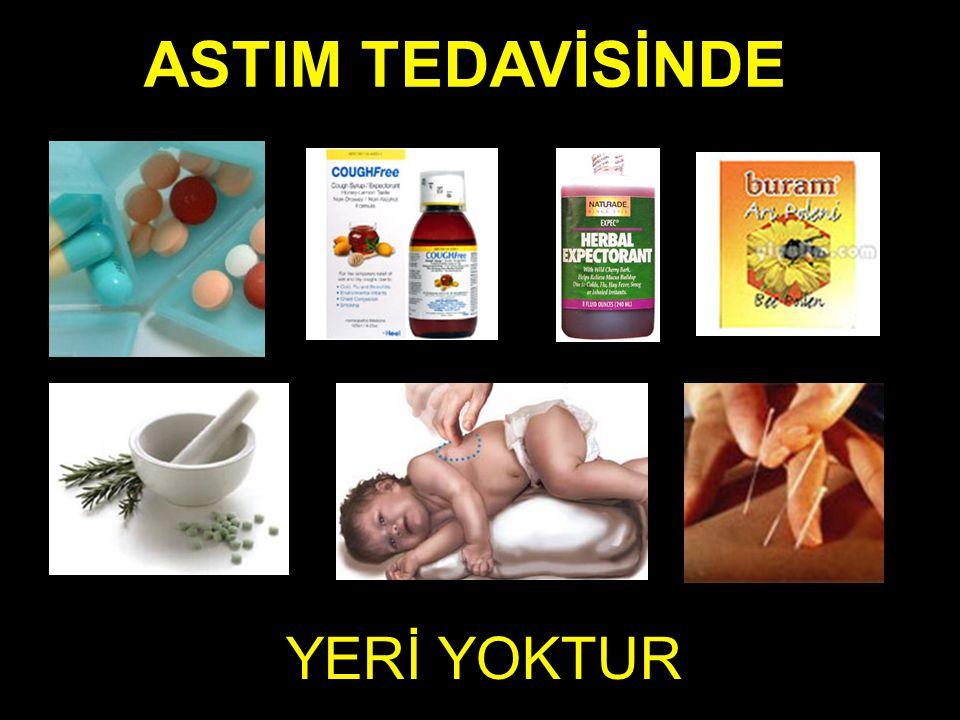 ASTIM TEDAVİSİNDE YERİ YOKTUR