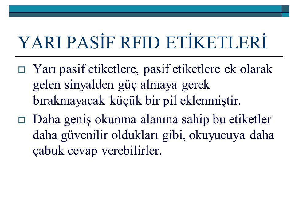 YARI PASİF RFID ETİKETLERİ