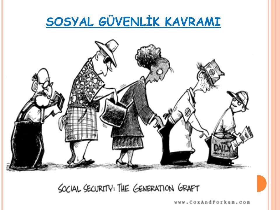 SOSYAL GÜVENLİK KAVRAMI