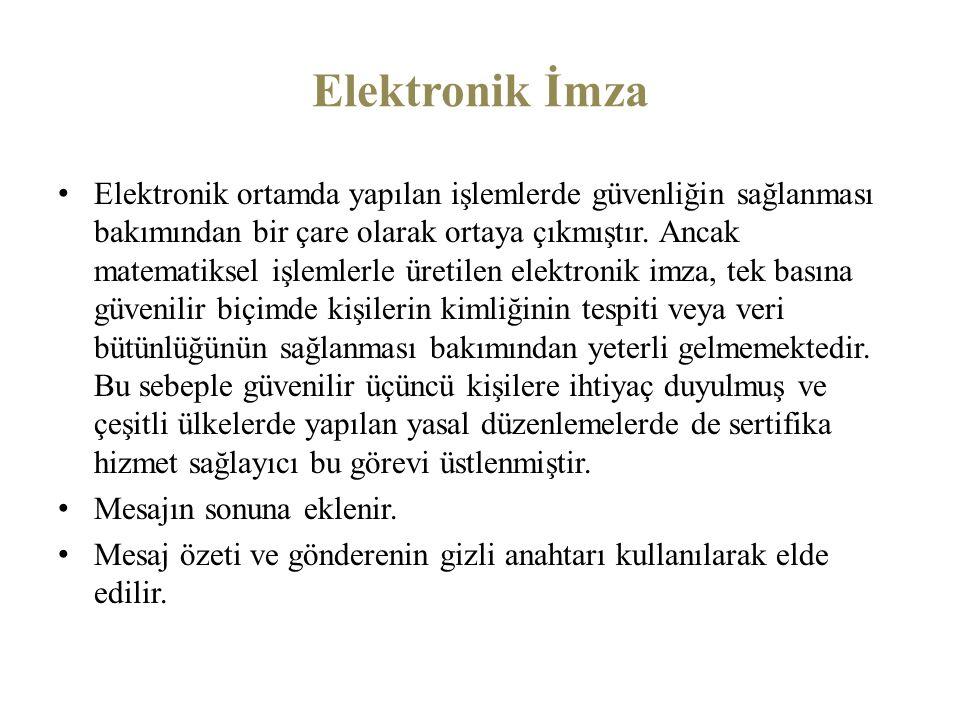 Elektronik İmza